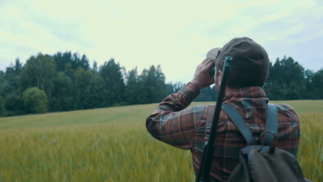 hunting (slow motion) - hunting stock videos & royalty-free footage