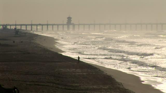 huntington beach, california - huntington beach california stock videos and b-roll footage