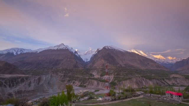 Hunza valley in Pakistan