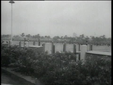 Hurricane Betsy over Miami / Miami Florida United States