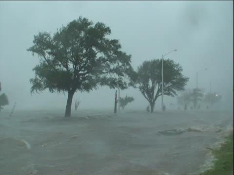 Hurricane Gustav strikes Gulfport, Mississippi.