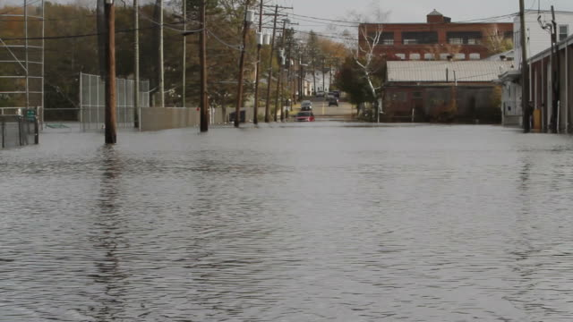 hurricane sandy flooding - environmental cleanup stock videos and b-roll footage