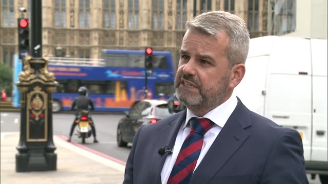 Husband of woman killed by cyclist meets with Government ministers Matthew Briggs interview SOT Gap in the law Cyclists along in cycle lane with...