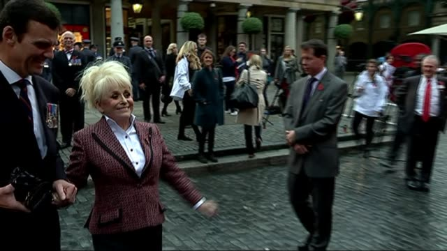 husband reveals that actor dame barbara windsor is suffering from alzheimer's disease r30101406 / london ext barbara windsor at event to launch the... - husband stock videos & royalty-free footage