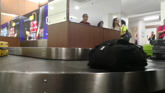 husein sastranegara international airport - luggage stock videos & royalty-free footage