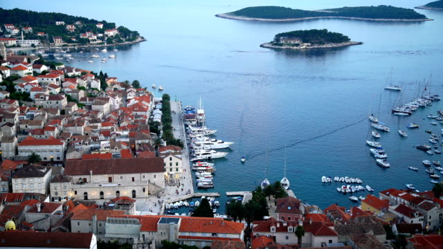 Hvar town on Hvar island, Croatia