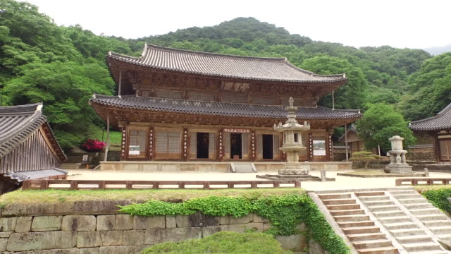 Hwaeomsa Temple at Mt Chirisan