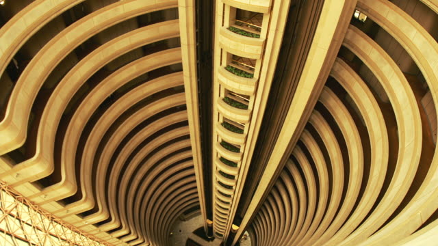 t/l, ms, ha, hyatt hotel elevators, santiago, chile - repetition stock videos and b-roll footage