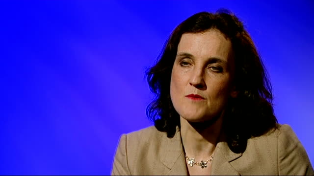 hyde park bombing suspect will not face trial after police error london int theresa villiers interview sot ext rain falling on 'on 20 july 1982'... - cavalry stock videos and b-roll footage