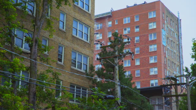 hyde park high-rise apartments - telegraph pole stock videos and b-roll footage