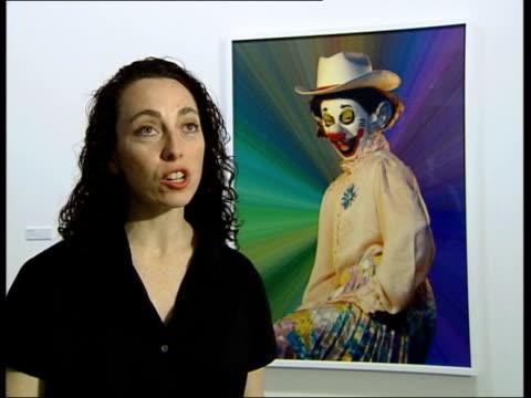 serpentine gallery rochelle steiner interviewed about cindy sherman exhibition sot - the serpentine gallery stock videos & royalty-free footage