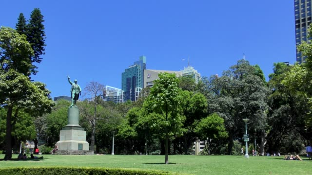 hyde park - sydney, australia - famous place stock videos & royalty-free footage