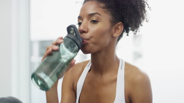 hydrated bodies are healthy bodies - sweat stock videos & royalty-free footage