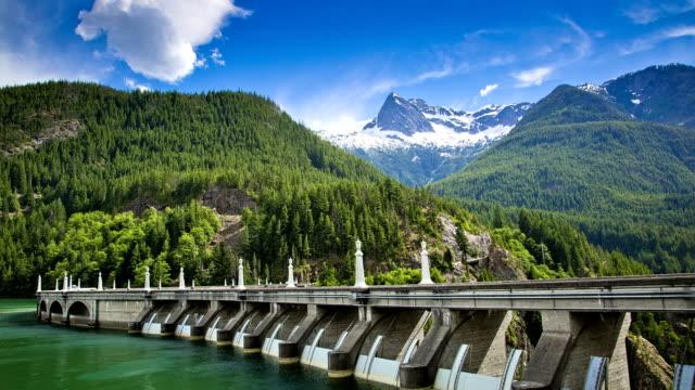 vidéos et rushes de barrage hydro - énergie hydrolienne