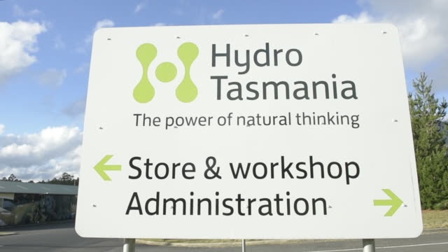 Hydro Tasmania's Cethana Power Station in Cethana Tasmania Australia on Monday July 2 2018