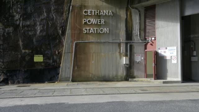 Hydro Tasmania's Cethana Power Station in Cethana Tasmania Australia on Monday July 2 2018