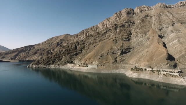 hydroelectric dam, iran, aerial shots - iran stock videos and b-roll footage