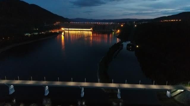 vidéos et rushes de hydroelectric power station - énergie hydrolienne