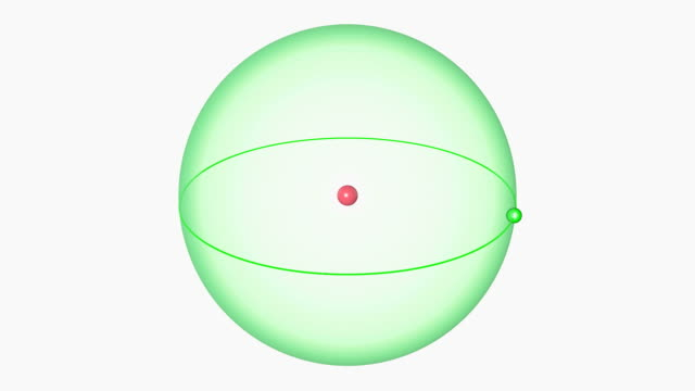hydrogen atom. diagram of an atom of the element hydrogen, showing the central nucleus surrounded by its electron orbital. - nucleus stock videos & royalty-free footage