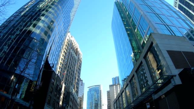 Hyper Ablauf der Fahrt durch die Innenstadt von Vancouver