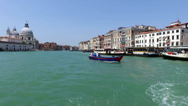 Hyper lapse of Venice Grand Canal, Italy