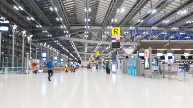 4k hyperlapse: flygplats thailand - visa bildbanksvideor och videomaterial från bakom kulisserna