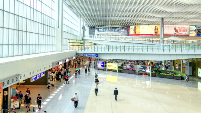 hyperlapse airport - poster stock videos & royalty-free footage