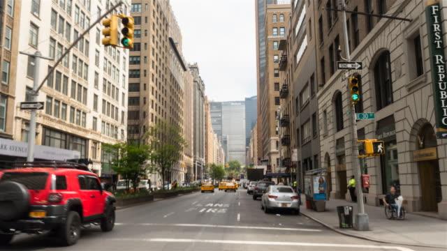 POV Hyperlapse along Park Avenue