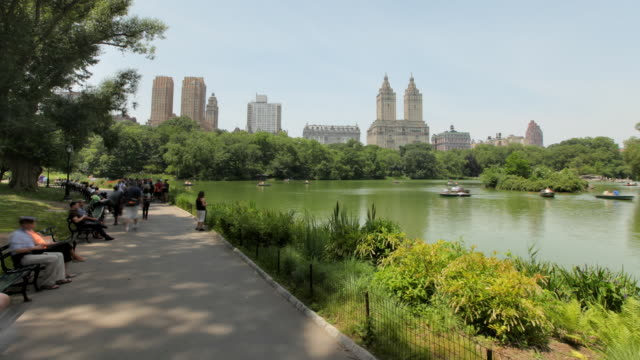 Hyperlapse along the Lake in Central Park