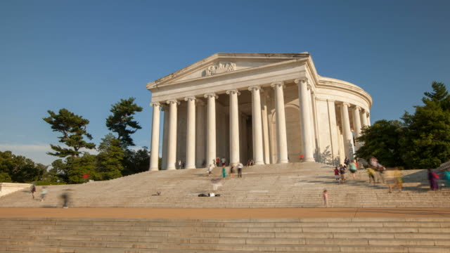 Hyperlapse around Jefferson Memorial