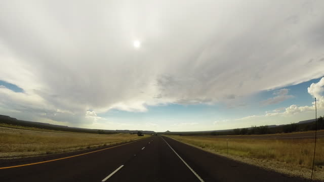 Hyperlapse drive in Texas