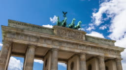 Hyperlapse of Brandenburger Gate in Berlin