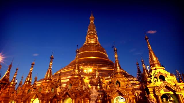 Hyperlapse von der Shwedagon-Tempel, Yangon, Myanmar (Burma)