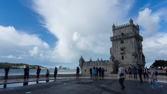 Hyperlapse of the Belem tower in Lisbon
