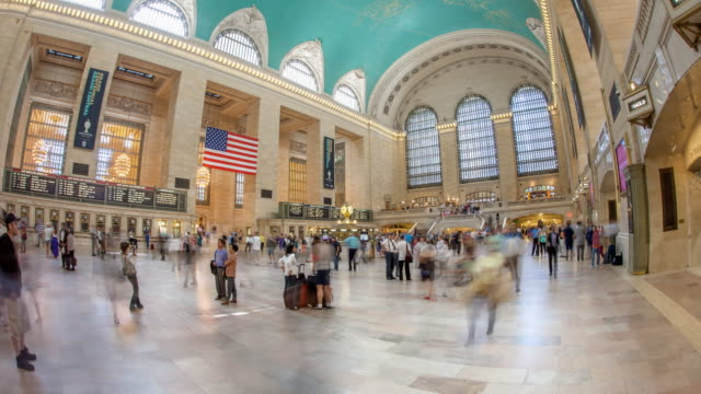 Hyperlapse through Grand Central Station