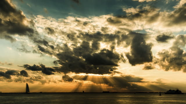 hyperlapse timelapse of a sunset in cancun, mexico. - time-lapse - famous place stock videos & royalty-free footage