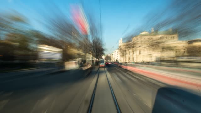 hyperlapse timelapse of vienna, austria, europe. - time-lapse - wien stock-videos und b-roll-filmmaterial