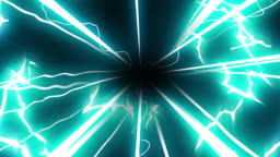Hyperspace Electricle Cartoon Animation 02