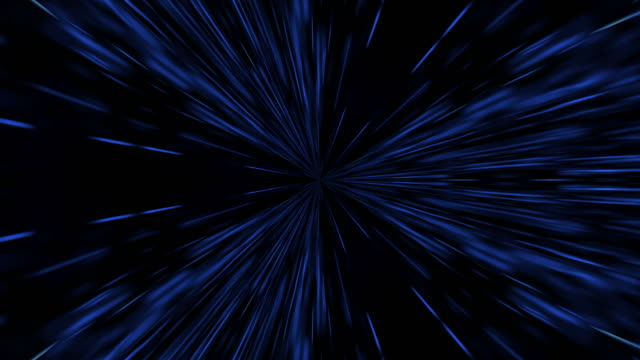 hyperspace light speed animation background. - eternity stock videos & royalty-free footage