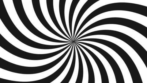 hypnosis circle hdv - spiral stock videos & royalty-free footage