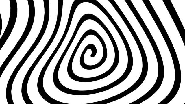 4k 催眠効果背景|ループ可能 - ムシクイ類点の映像素材/bロール
