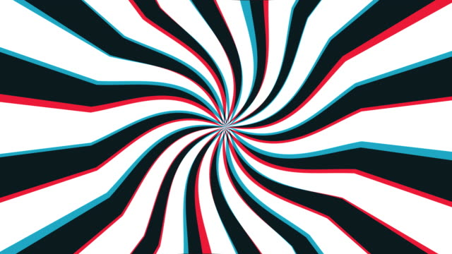 stockvideo's en b-roll-footage met hypnosis loop - psychedelisch