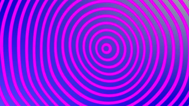 vidéos et rushes de animation hypnotique, rose et bleu - hypnose