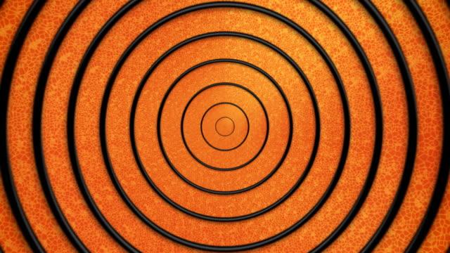 Hypnotic título de historieta círculos -plain versión
