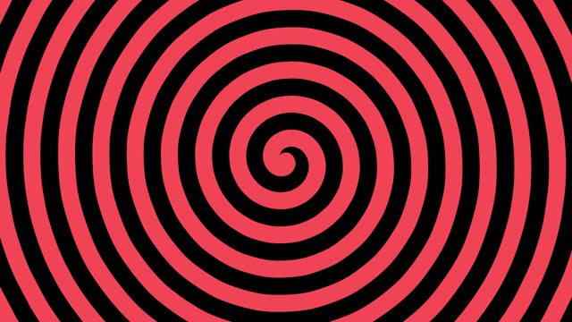 hypnotic spiral, 4k illusion background, abstract colorful turning spiral motion background, - manga style stock videos & royalty-free footage