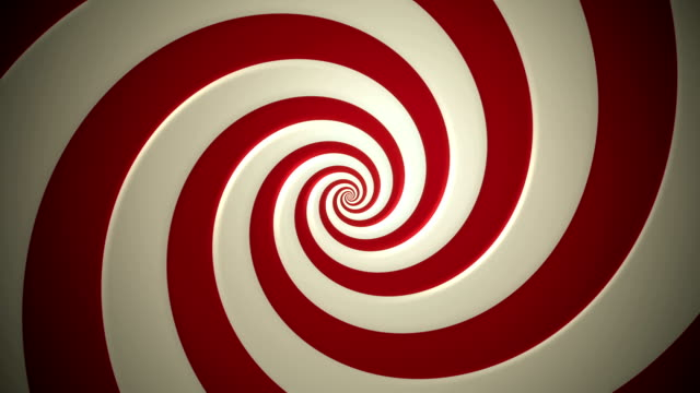 hypnotic spiral - loop - psychedelic stock videos & royalty-free footage
