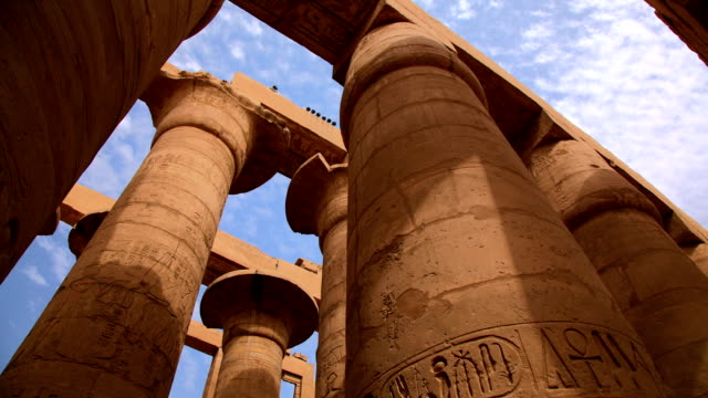 Hypostyle Hall from Karnak Temple, Luxor Egypt