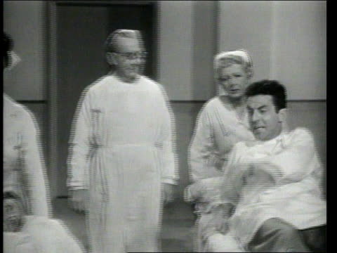 1947 montage hysterical father getting admitted into psychopathic ward - insanity stock videos & royalty-free footage