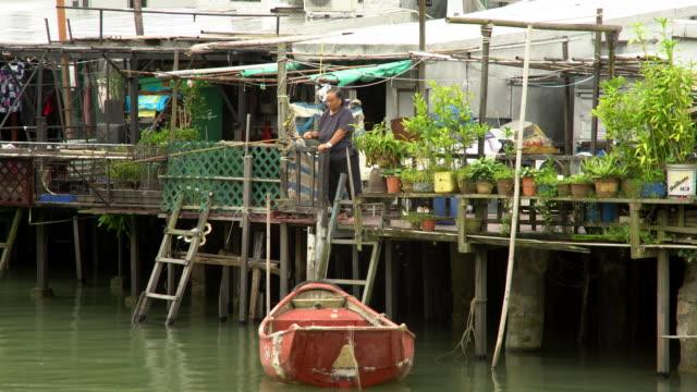 i o fisherwoman fishing - lantau stock videos and b-roll footage