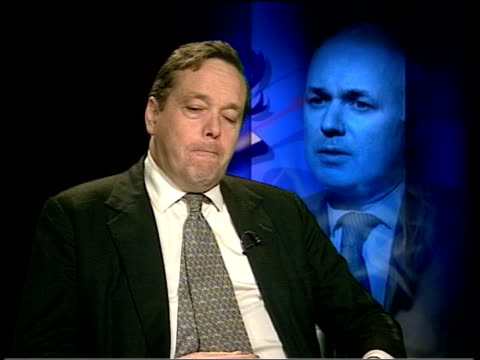 Iain Duncan Smith faces down critics ITN Lord Cranborne interviewed SOT We are in the most dangerous scenario they look increasingly like the latter...